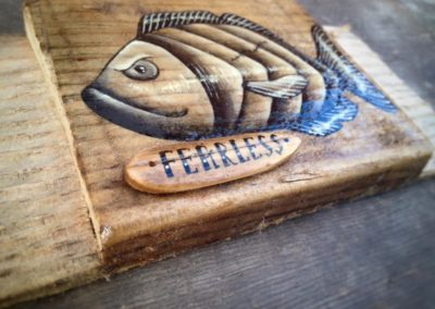 Surf on Driftwood, Freedom Fish