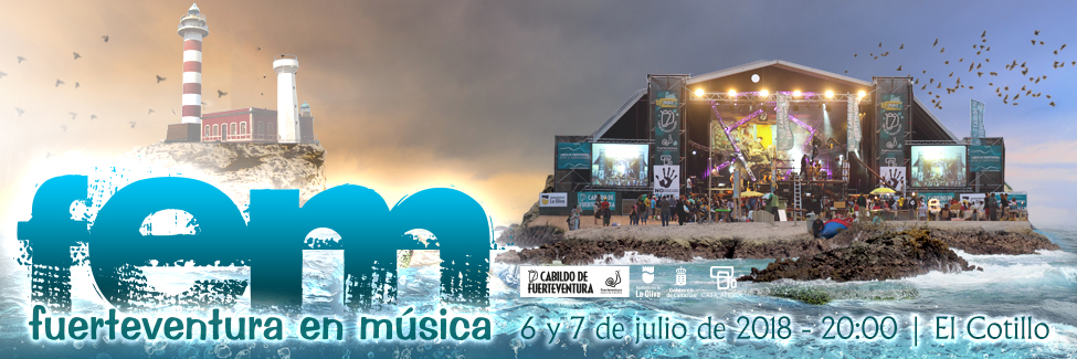 Fuerteventura en Música: Open-Air-Musikfestival am 6. & 7. Juli 2018 in El Cotillo