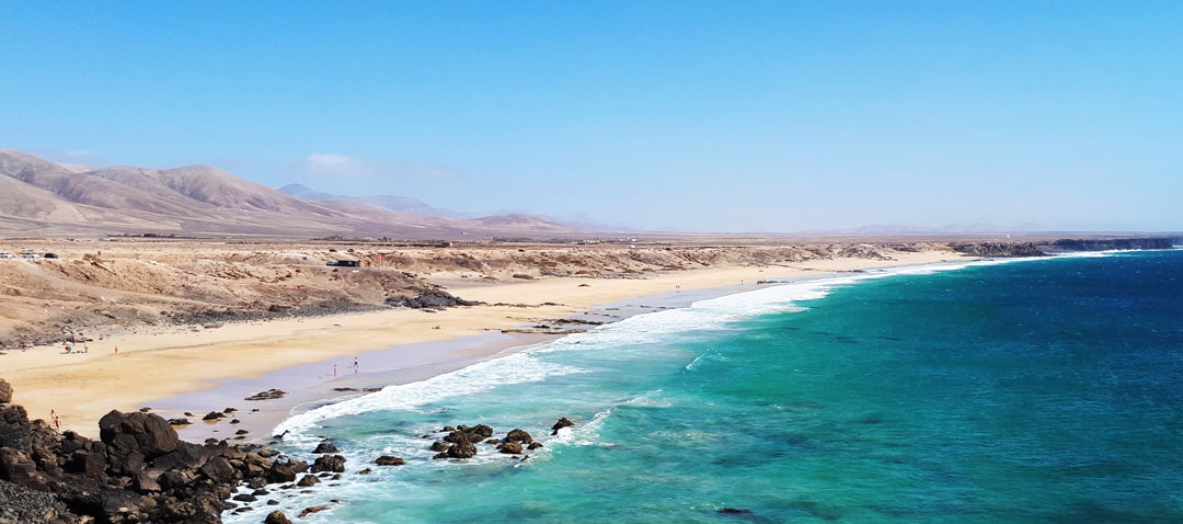 Der Strand in El Cotillo